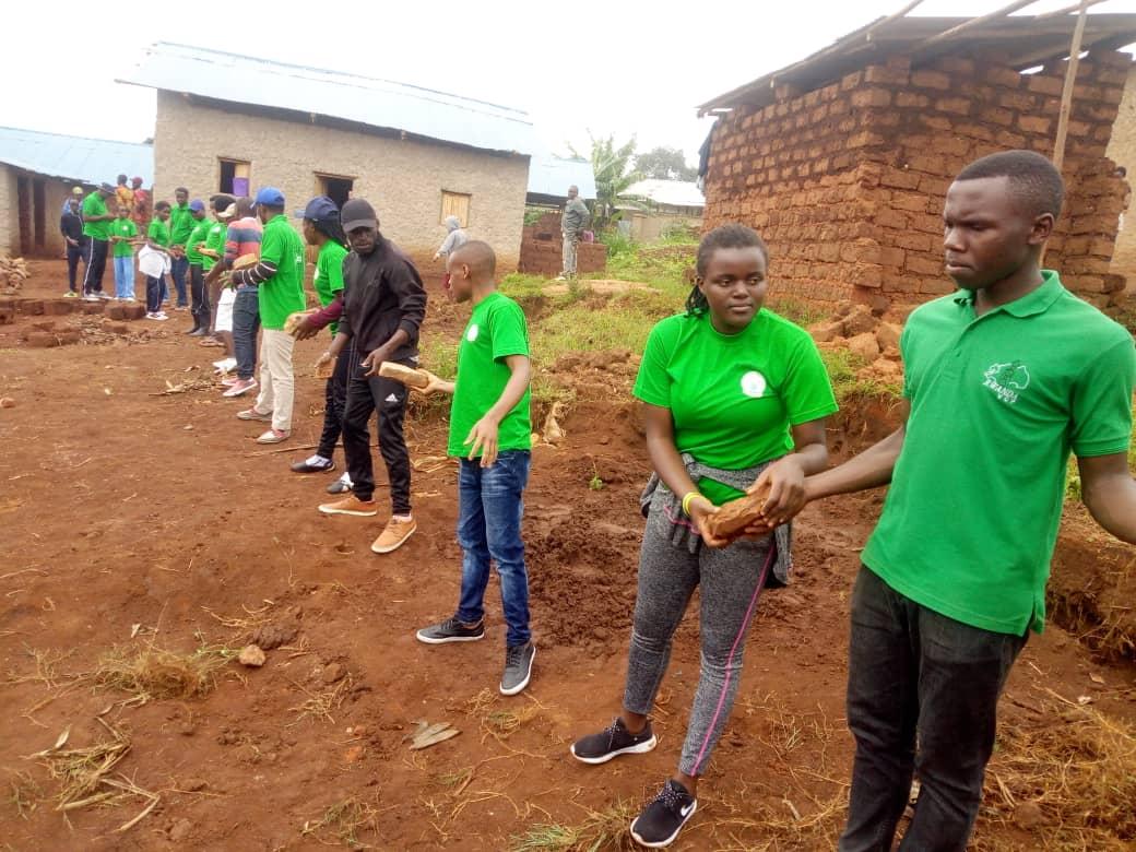 """RVCP in UMUGANDA community action  to sensitive  for  Malaria prevention """"world malaria day 2019"""""""